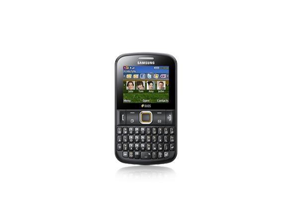 Samsung Chat 222 Front View