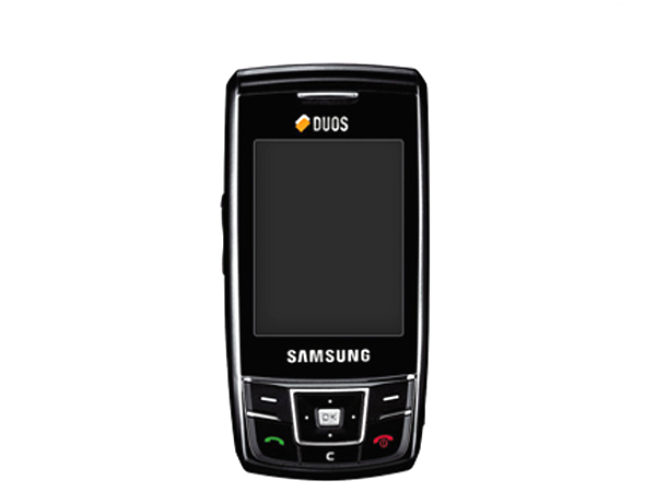 Samsung D880 Duo Cell Phone