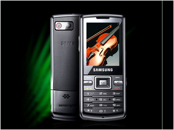 Samsung Duos Touch W299 mobile phone