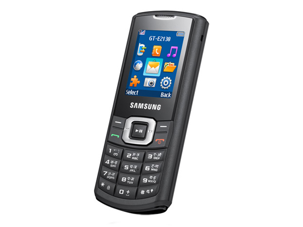 Samsung E2130 Side View
