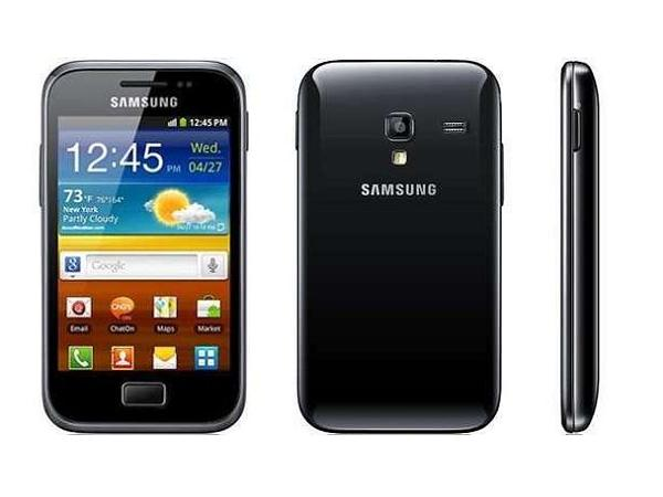 Samsung Galaxy Ace Plus S7500 all side view
