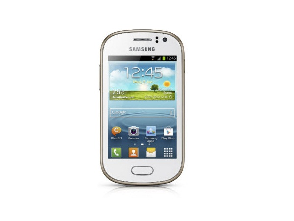 Samsung Galaxy Fame S6812 Front View