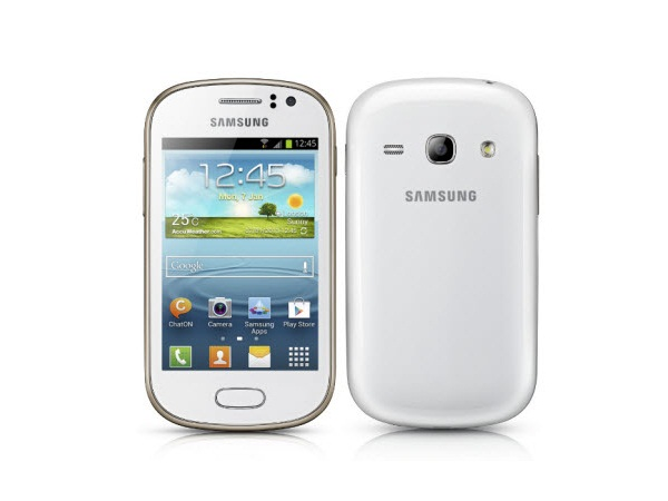 Samsung Galaxy Fame S6812 Front & Back View