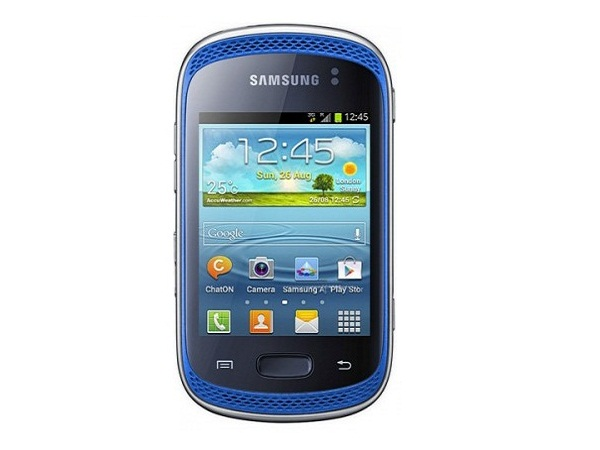 Samsung Galaxy Music Duos S6012 Front View