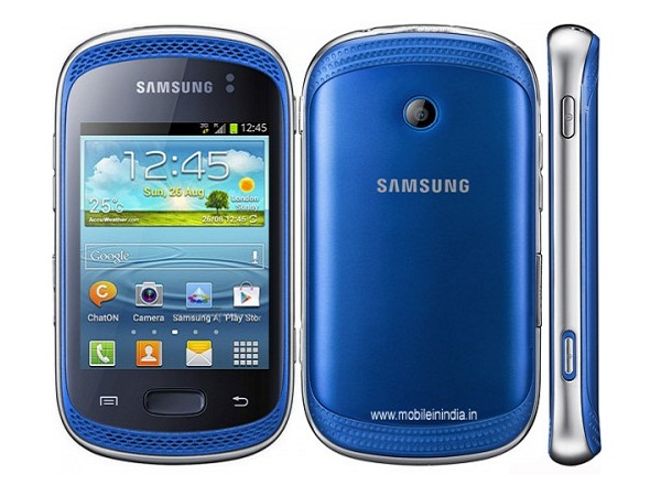 Samsung Galaxy Music Duos S6012 all side view