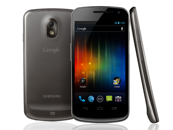 Samsung Galaxy Nexus I9250 Front, Back and View