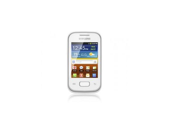 Samsung Galaxy Pocket S5300 Front View