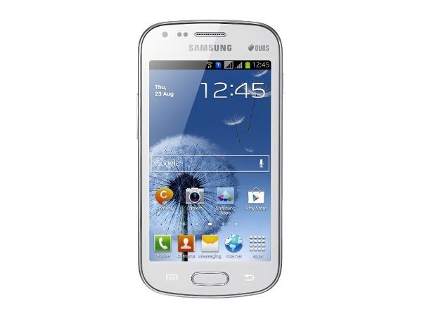 Samsung Galaxy S Duos S7562 Front View