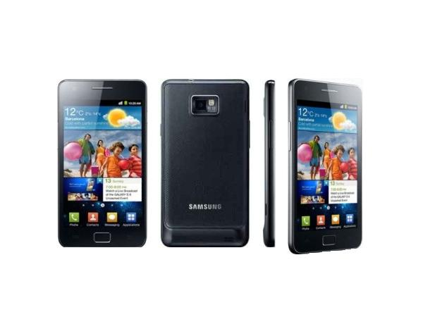Samsung Galaxy S II I9100 Front, Back & Side View