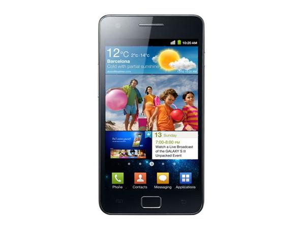 Samsung Galaxy S II I9100 Front View