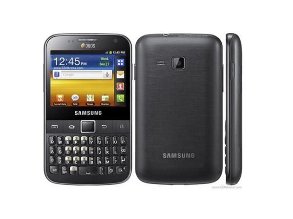 Samsung Galaxy Y Pro Duos B5512 all side view