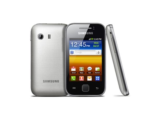 Samsung Galaxy Y S5360 Front, Back and Side View