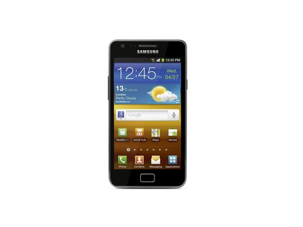 Samsung Galaxy R Front View