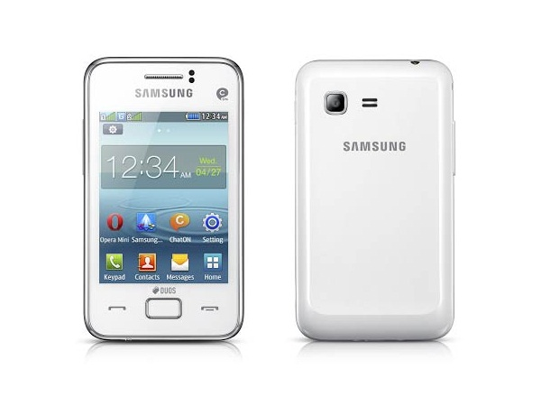 Samsung Rex 80 Front & Back View