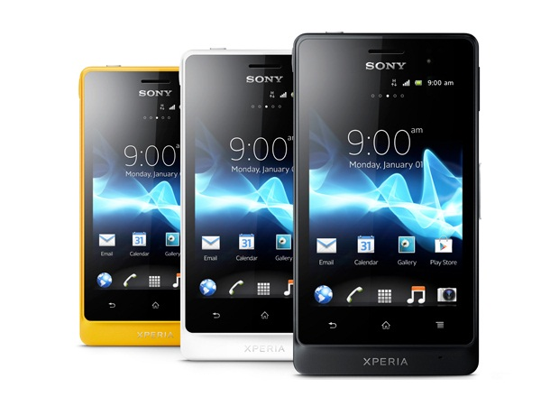 Sony Xperia go Front Views