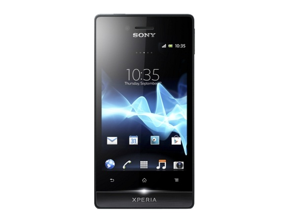 Sony Xperia miro Front View