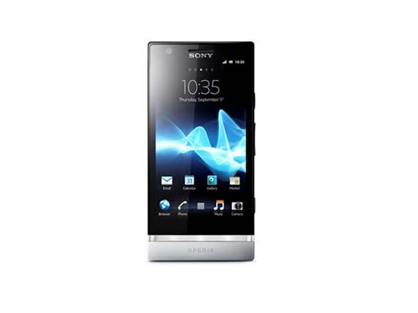 Sony Xperia P Front View