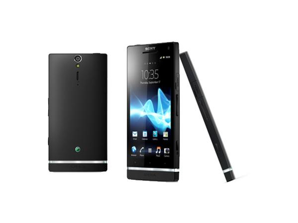 Sony Xperia S Back, Front and Side View