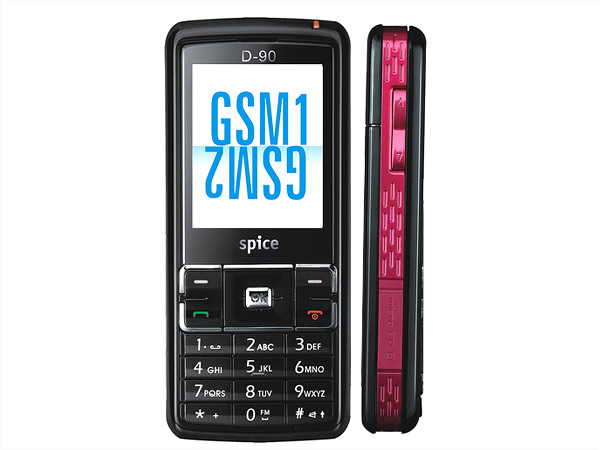 Spice D-90 mobile phone