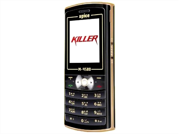 Spice M-4580 cell phone