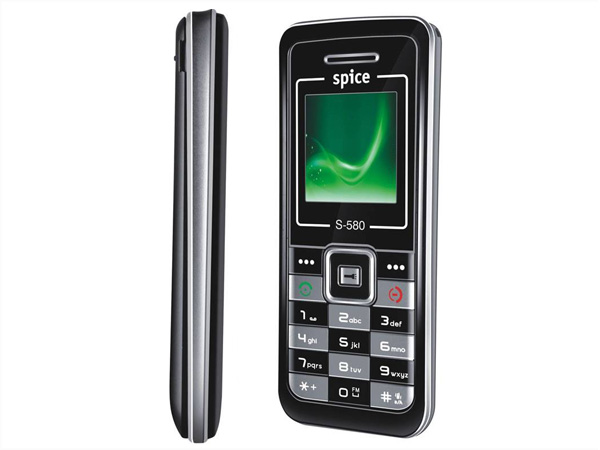 Spice S-580 cell phone