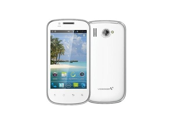Videocon A27 Front & Back View