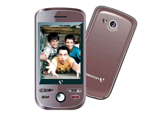 Videocon V1655 mobile phone