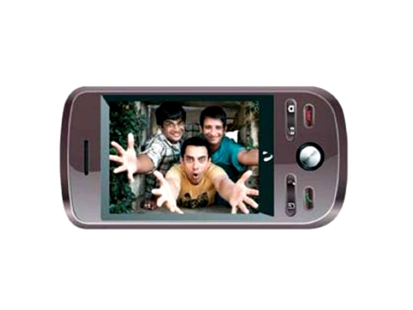 Videocon V1655 cell phone